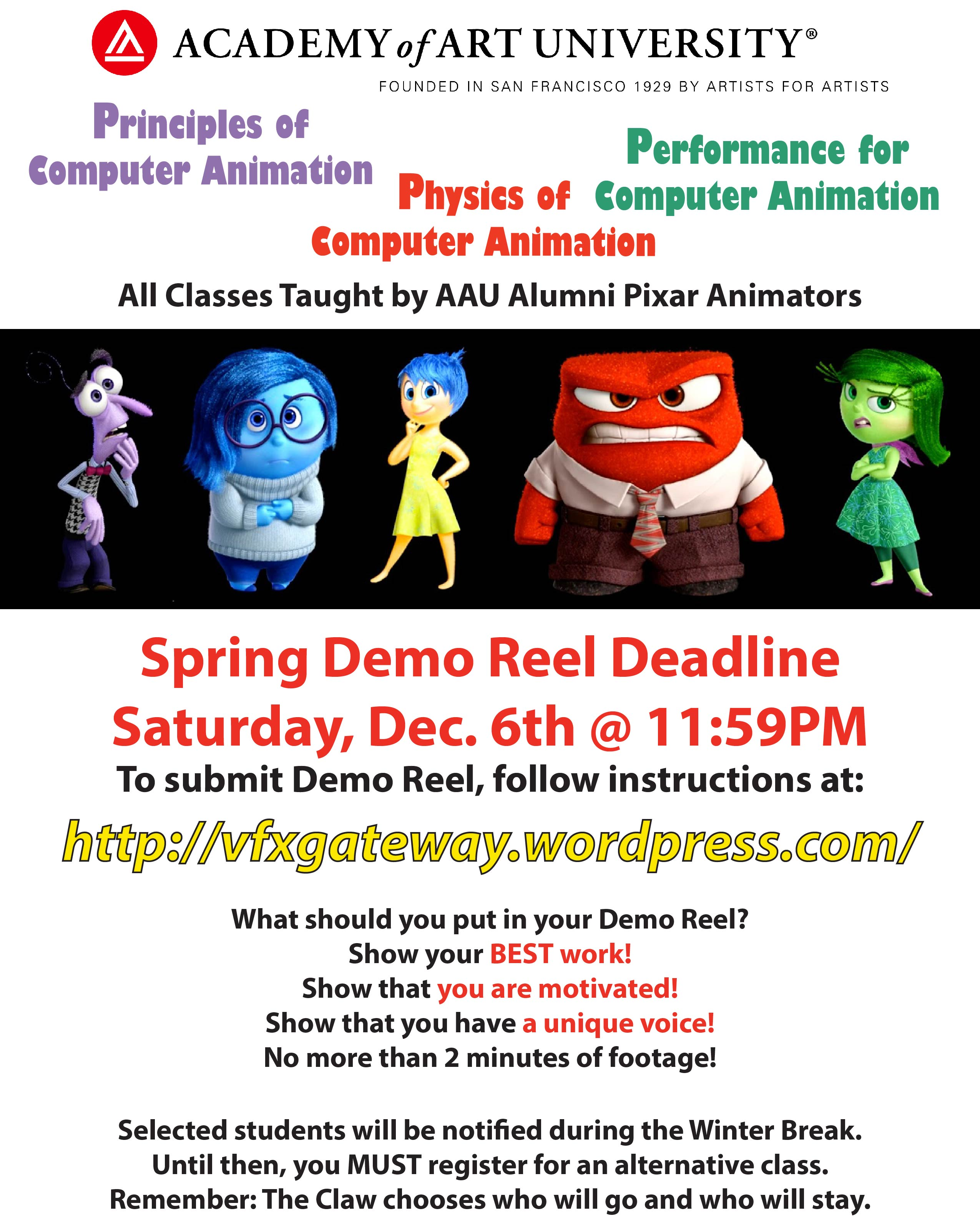 Pixar Poster SP15
